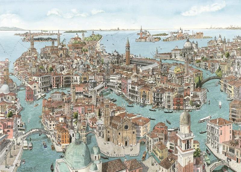 venice la serenissima prints of venice venice cityscapes