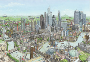 London - Sporting City Painting
